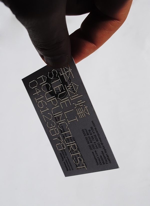 Steve Li business card on Behance