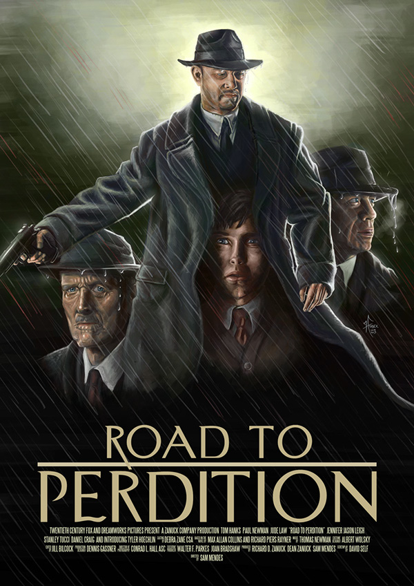 Film Poster - Road To Perdition on Behance