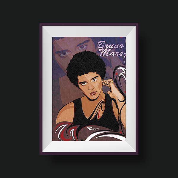 Bruno Mars by . C   E   P   E   P   A   S .
