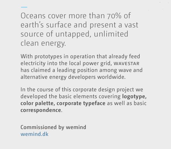 power Ocean water wave. star wavestar energy identity logo gif business card blue letter Stationery