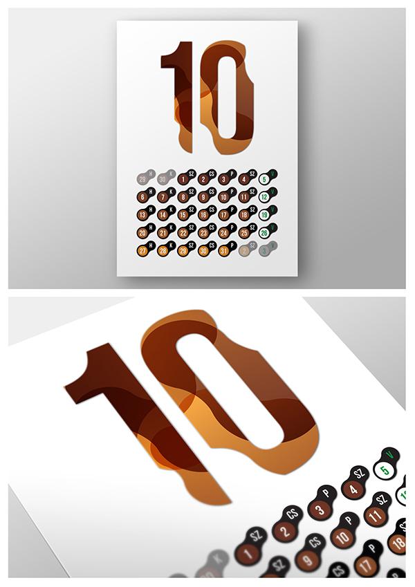 Calendar Cover Design Ideas : Calendar design on behance