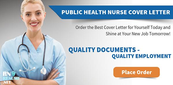 Writing Public Health Nurse Cover Letter on Pantone Canvas ...