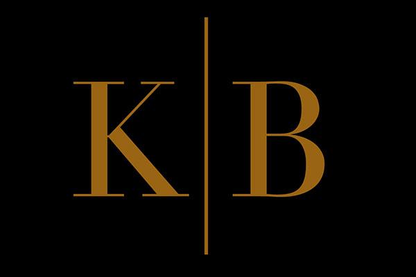 K B Logo Design On Behance