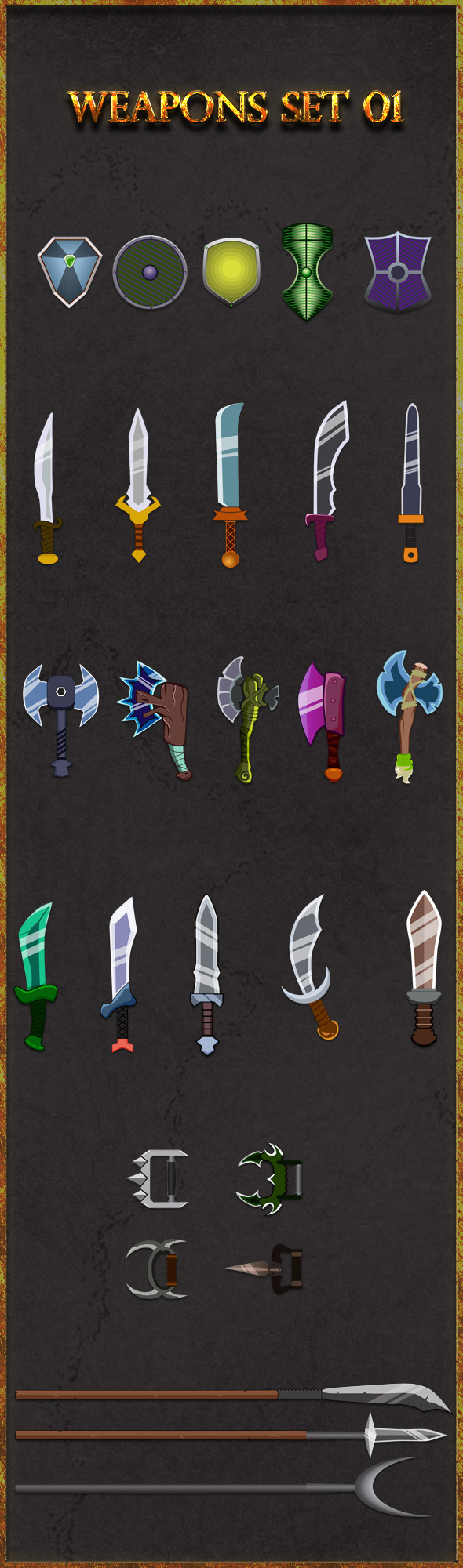 adventure Ancient axe battle Blade Combat cross dagger equipment fantasy
