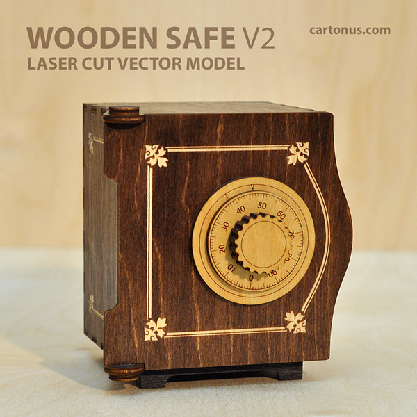Project Gallery Wood Mode 1: Wooden SAFE V2 On Behance