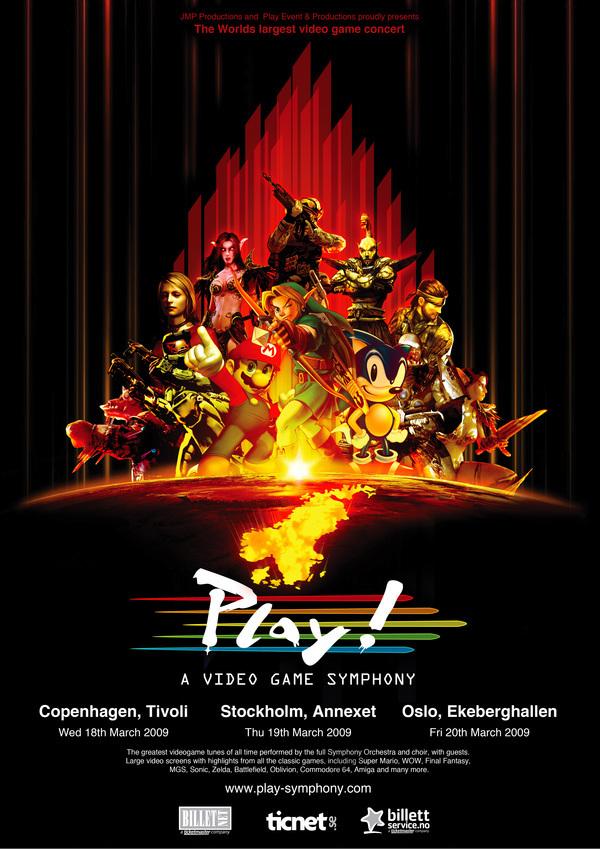 play symphony
