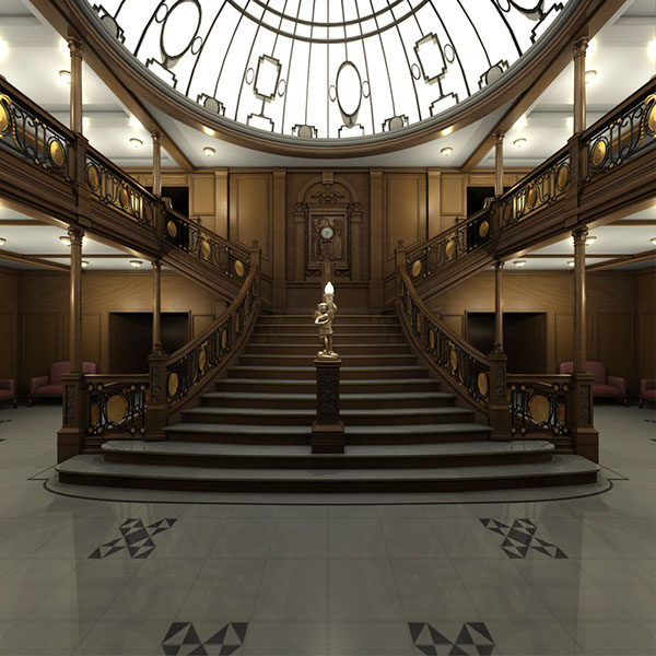 titanic grand staircase vi-#17