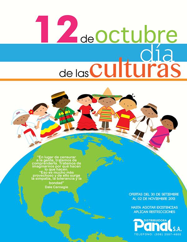 12 de Octubre día de las culturas on Behance