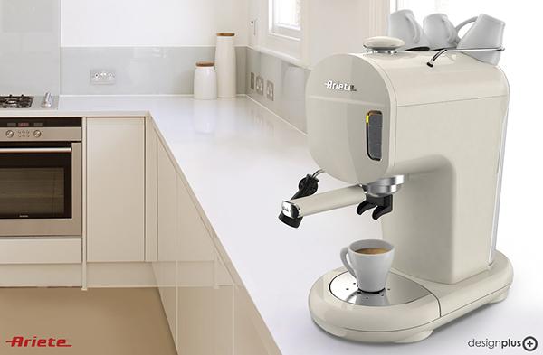 ALBA. Capsule coffee maker