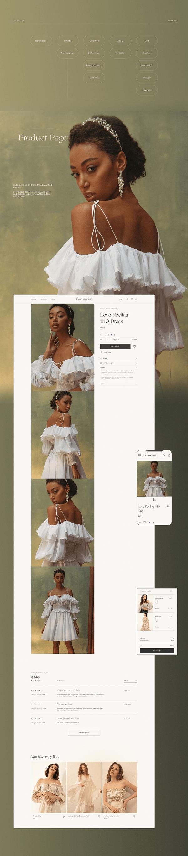 Overthesea — E-commerce