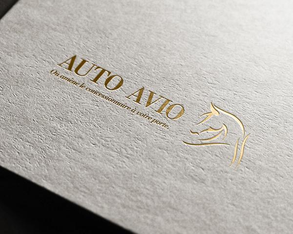 gold luxury Masculin marketing   Auto Vehicle class Style identity print logo Identity Design