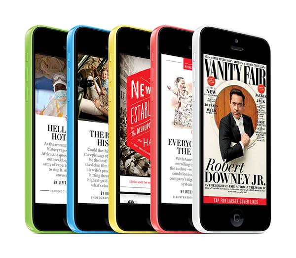 vanity fair iphone edition