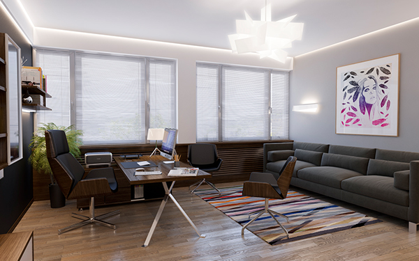 Enjoyable Personal Office Room On Behance Largest Home Design Picture Inspirations Pitcheantrous