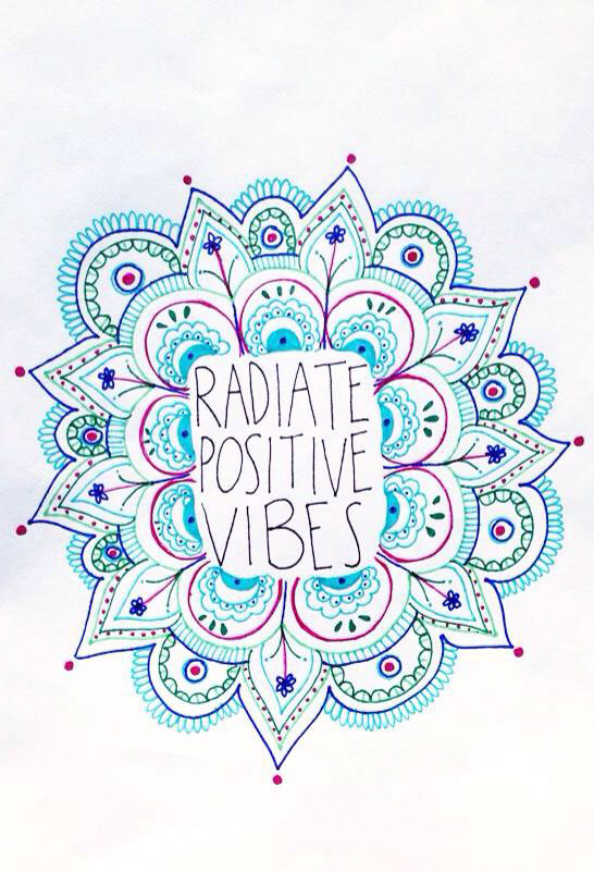 Positive Vibes Positive Mind Positive Life On Behance