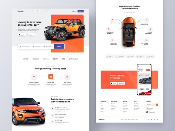 RentalX | Car Rental Website