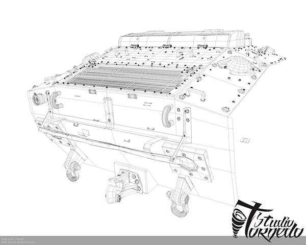M24 Chaffe Tank 3d