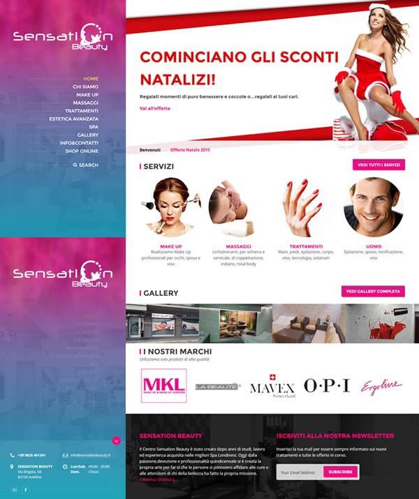 site Ecommerce beauty Spa Wellness