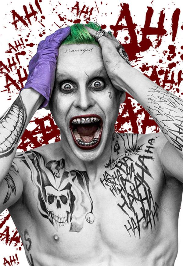 Jared Leto Is The Joker On Behance