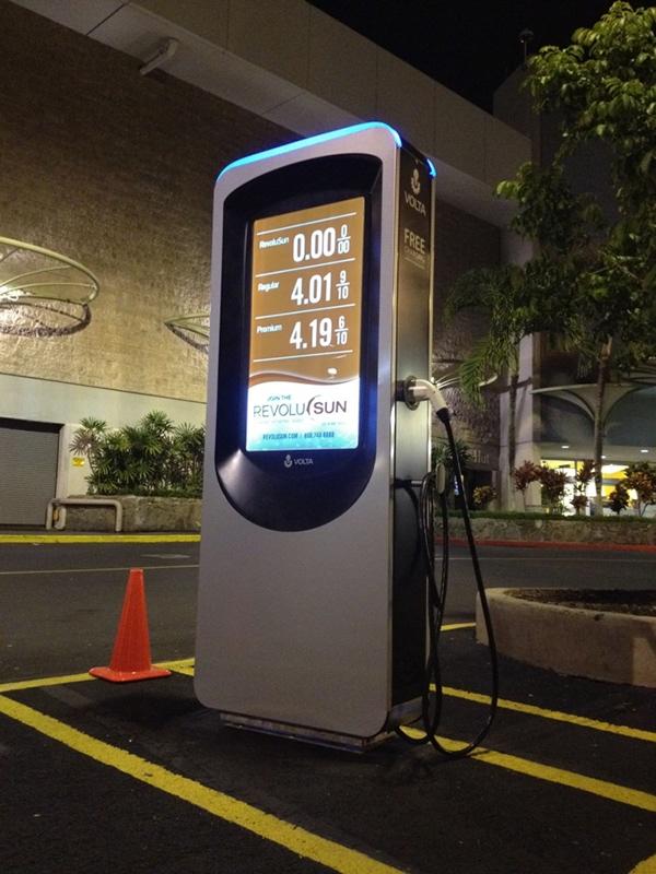 Ev Charging Station Volta On Behance