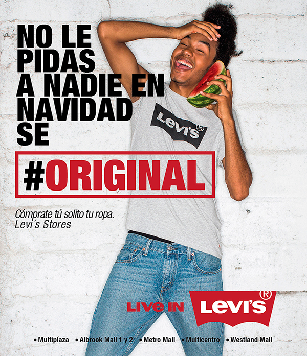 panama levis levi's campaign winter crazy Sandia watermeloon Original store