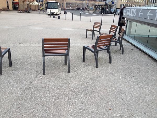 Proth se pour mobilier urbain on behance for Mobilier urbain espace public