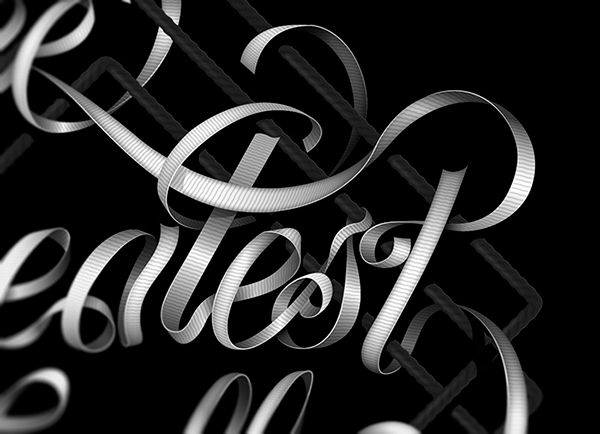muhammad ali Boxing bandages Black&white lettering Baimu ribbon band Classic ring ropes black Fighter sport fight