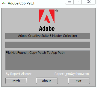 crack adobe cs6 master collection