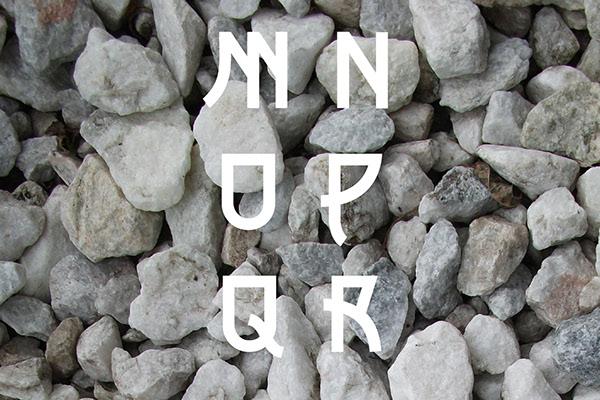 font design Typeface display font