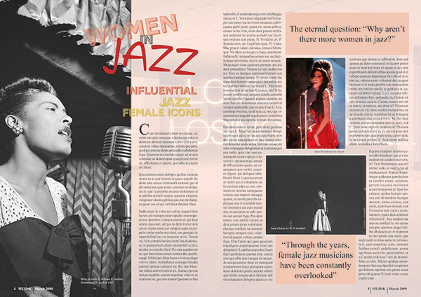 Magazine Design - Academic Project