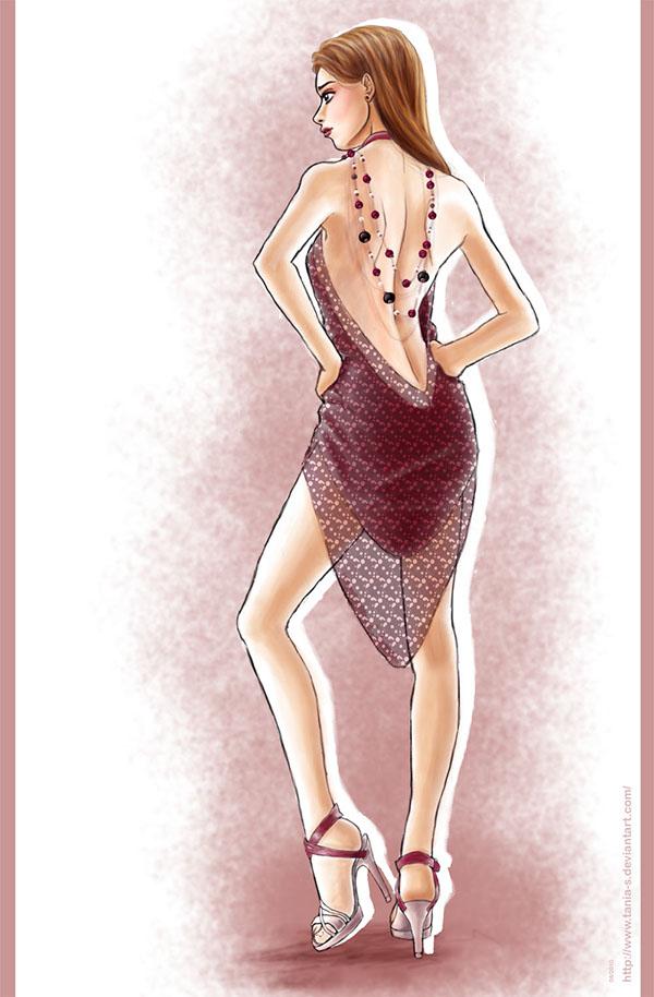 Digital Fashion Illustration On Behance