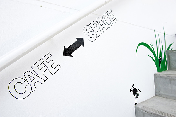 CAFE + SPACE BEYOND