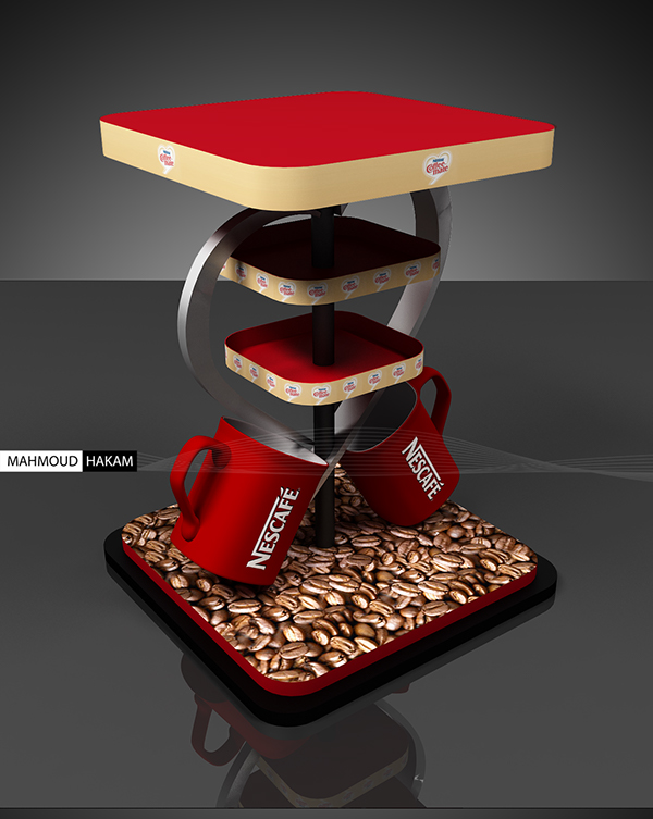 Exhibition Booth Behance : Nescafe coffeemate stand on behance