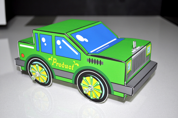 Paper Scrapers (folded cars) on Behance