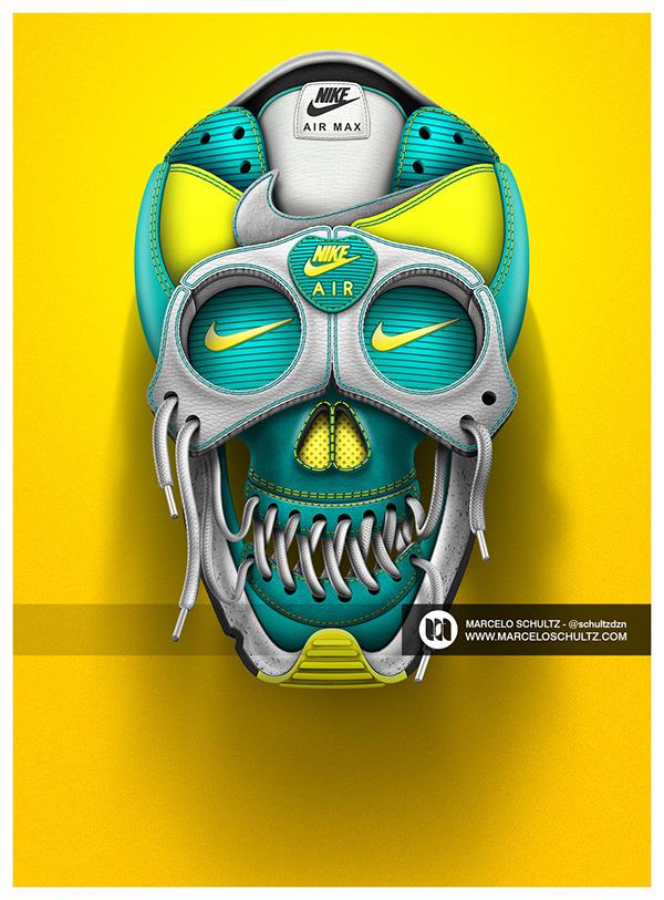 30  Creative Nike Designs for Inspiration -DesignBump