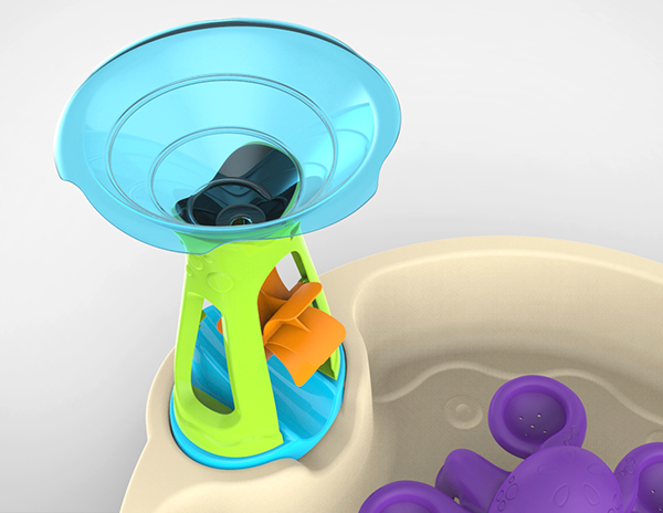 The Step 2 Wild Whirlpool Water Table On Behance