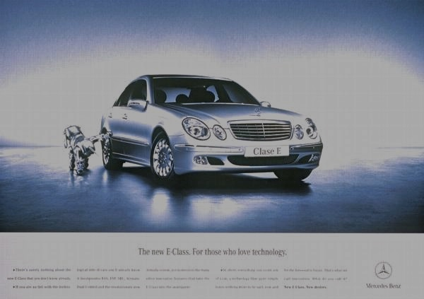 Mercedes benz print ad on behance for Mercedes benz print ads