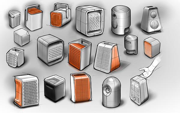 Wireless Speakers On Behance