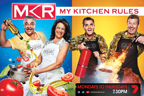 My kitchen rules series three on behance for Y kitchen rules season 8