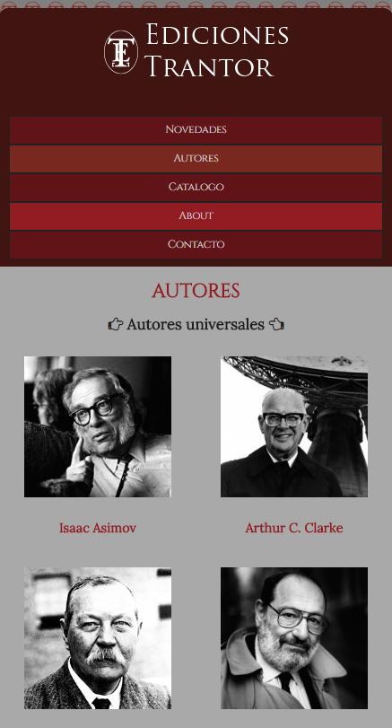 Autores de Editorial Trantor