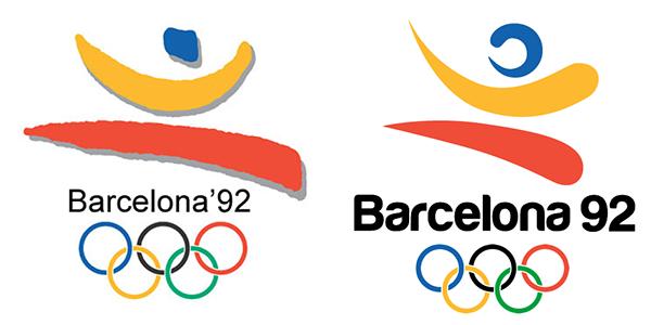 redesigning barcelona92 logo on behance