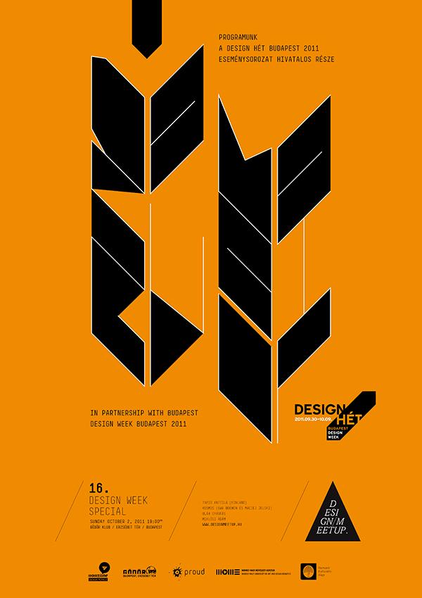 Design Meetup Poster 2011 / 10 on Behance