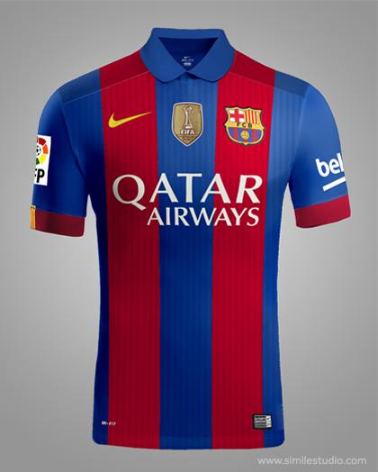 F.C. Barcelona 2016 2017 Rumores (Concept Kit) on Behance 37d95f884b822