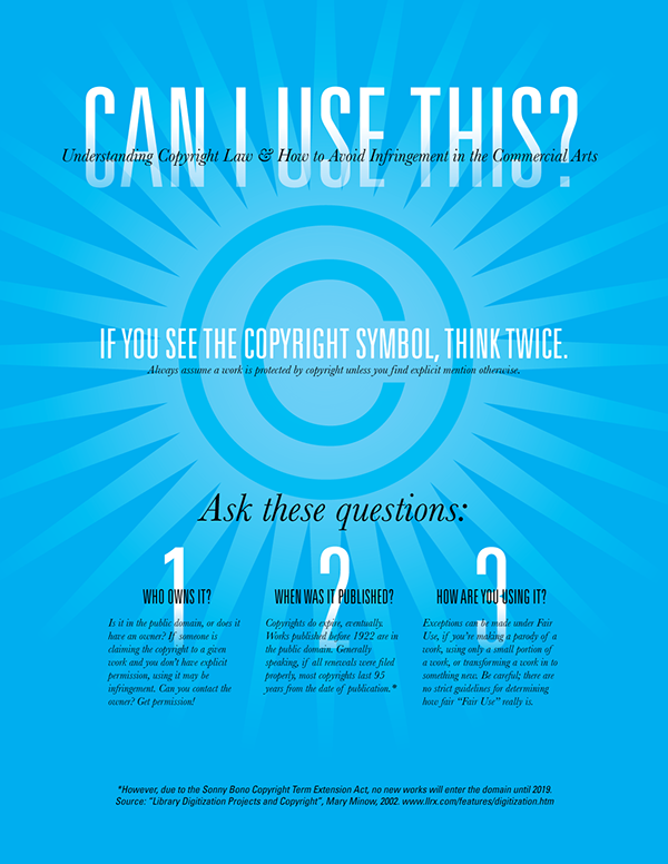 Copyright Law Poster On Behance