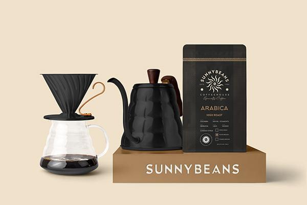 Sunnybeans Coffee Brand Identity