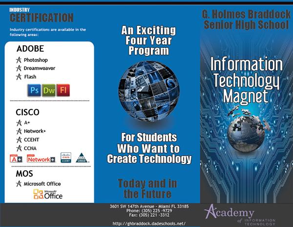 Information Technology Brochure Technology Brochure on