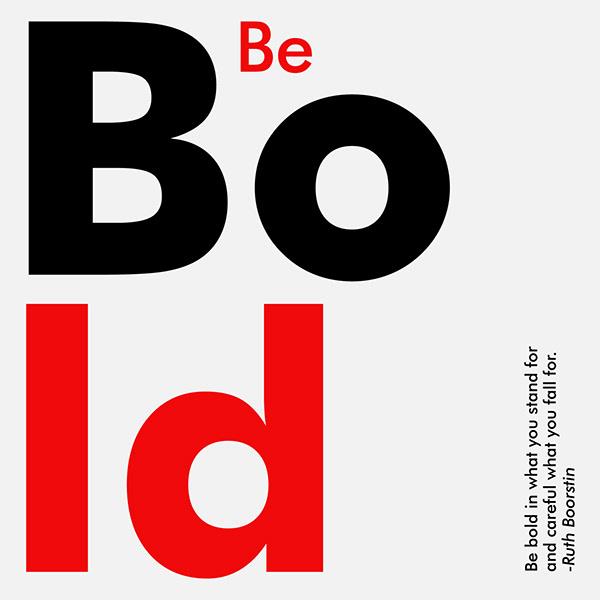 Minimalist Typography Designs
