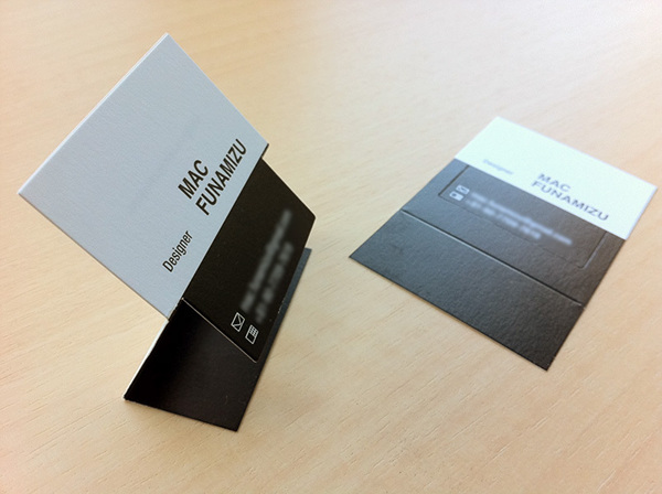 3D Business Card Design on Behance