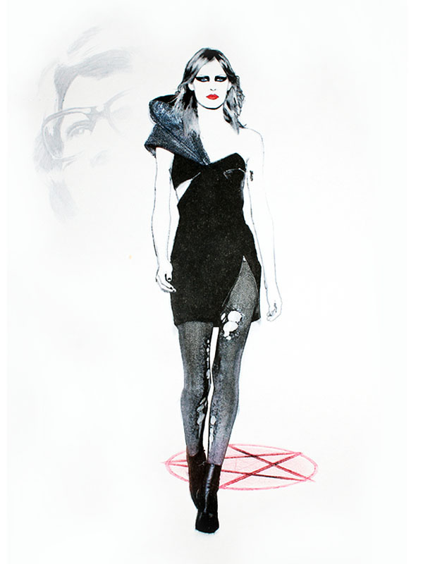 The Bad Girls Of Yves Saint Laurent On Behance