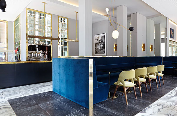T 39 a milano store bistrot on behance for Store design milano
