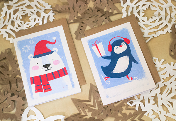 target christmas cards on behance - Target Photo Christmas Cards